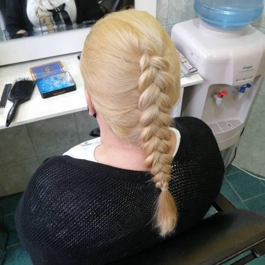 Candir #novisad Nega i ojačavanje kose Riblja kost - duga kosa