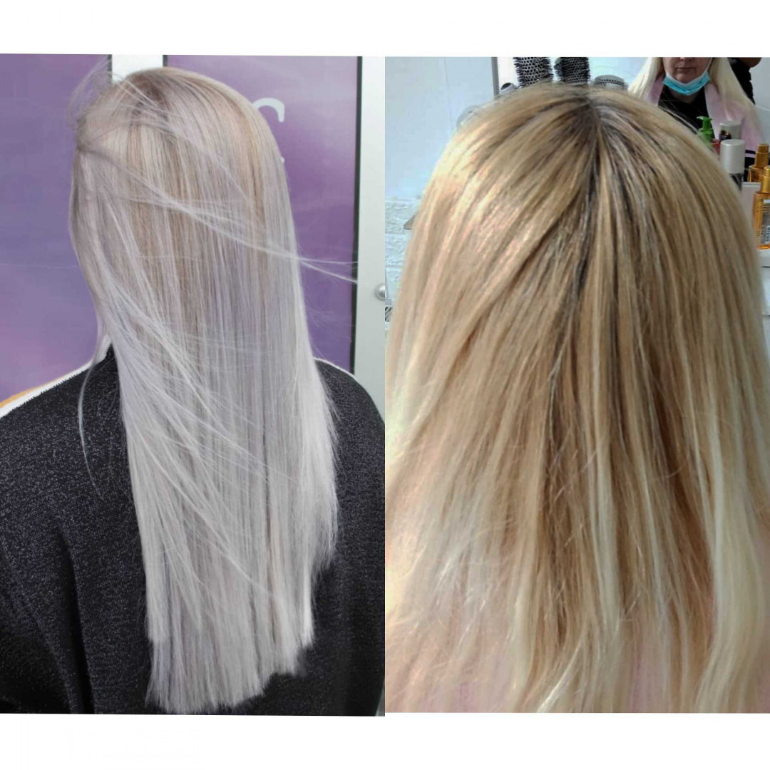 LookBook M Studio 0303 Balayage / Ombre / Sombre + preliv + feniranje + šišanje - ekstra duga kosa