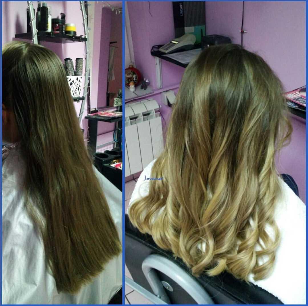 LookBook Jovana + Ombre / sombre / balayage + preliv - ekstra duga kosa