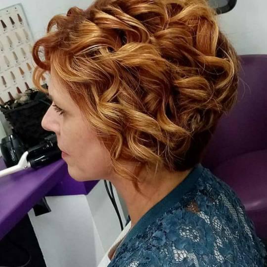 Bajka 10 #beograd Uvijanje, lokne i talasi Lokne na figaro - kratka kosa