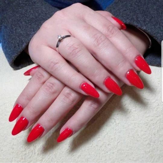 Grossi cosmetic #beograd Gel lak Ojačavanje prirodnih noktiju gelom - boja