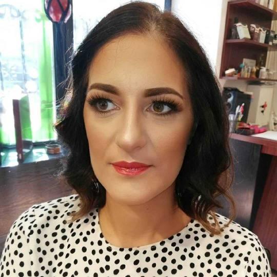 Xtreme #beograd Make-up / šminkanje Profesionalno šminkanje + veštačke trepavice - večernja