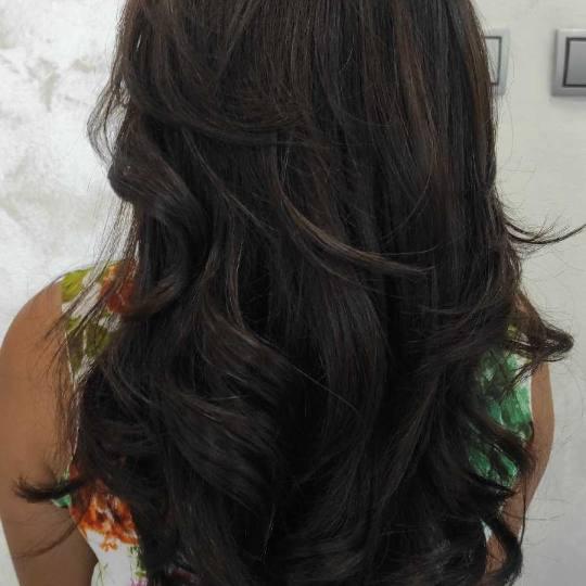 Lutka #beograd Feniranje i stilizovanje Feniranje na ravno / lokne - duga kosa