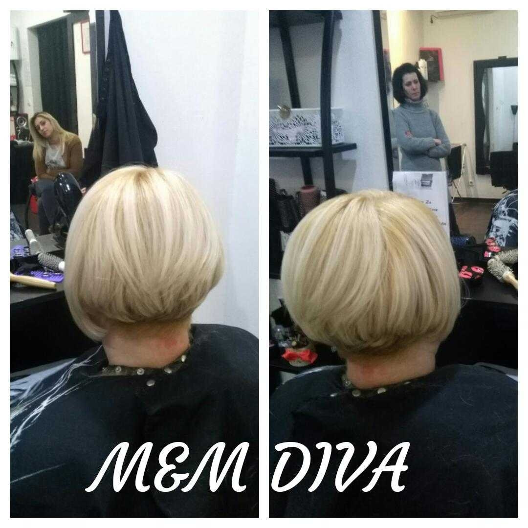 LookBook M&M Diva Žensko šišanje - kosa srednje dužine