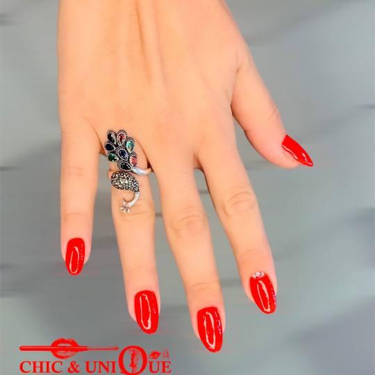 Chic & Unique Beauty Studio #beograd Ojačavanje noktiju Ojačavanje prirodnih noktiju gelom #gelnai