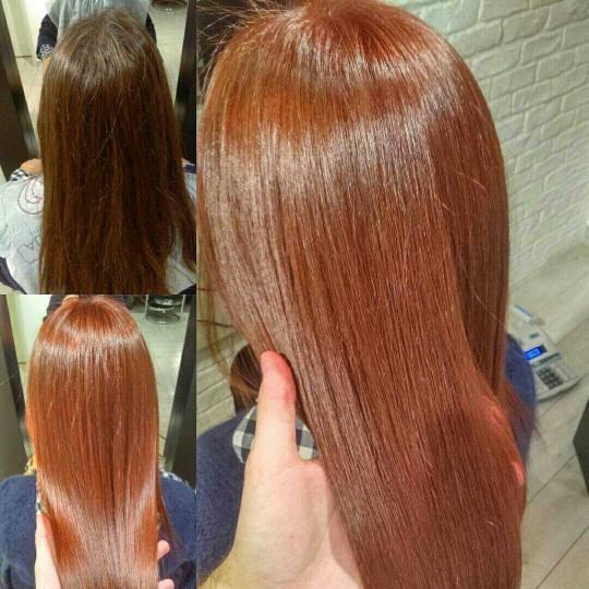 Studio Terazije #beograd Farbanje kose Farbanje cele dužine - duga kosa savrsena boja za jesen