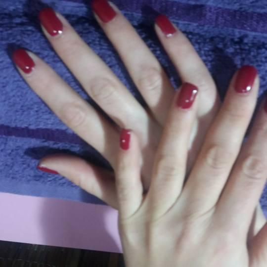 Lix masažno - kozmetički centar #beograd slika 4. apliciran gel lak- i prirodni i kratki nokti izg