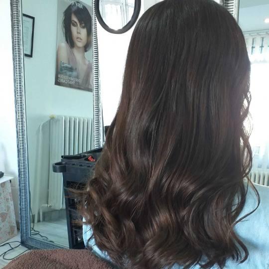 Prestigio #beograd Žensko šišanje Žensko šišanje - duga kosa talasi