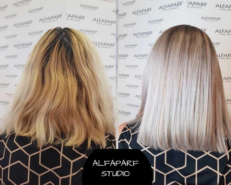 LookBook Alfaparf Studio Balayage, ombre, sombre + preliv - kosa srednje dužine