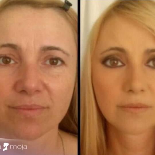 Slatka moja #beograd Make-up / šminkanje Profesionalno šminkanje