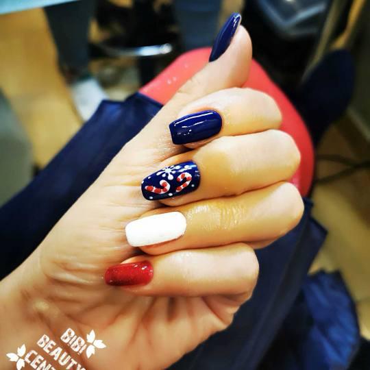 Bibi beauty centar #beograd Izlivanje noktiju Izlivanje noktiju gelom - kratki nokti nails art by Bi