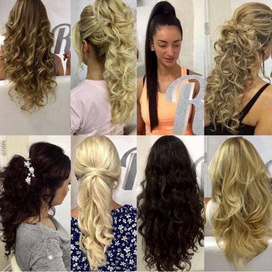 Rič #novisad Svečane i frizure za svadbu Svečana frizura sa nadogradnjom
