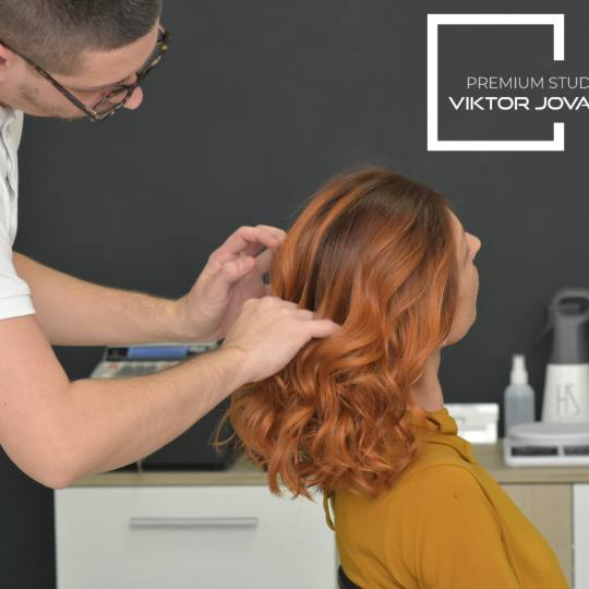 Viktor Jovanović TEAM #subotica Feniranje i stilizovanje Feniranje na  ravno / lokne / talasi - sve