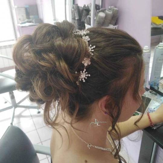 Jovana + #beograd Svečane i frizure za svadbu Frizura za mladu - ekstra duga kosa