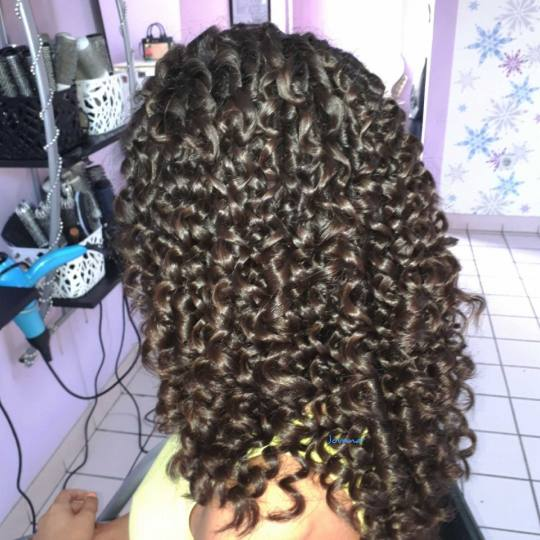 Jovana + #beograd Uvijanje, lokne i talasi Afro lokne - ekstra duga kosa
