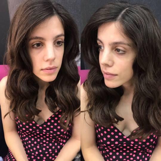 Friends beauty studio #beograd Uvijanje, lokne i talasi Ispravljanje / uvijanje kose presom - kosa s