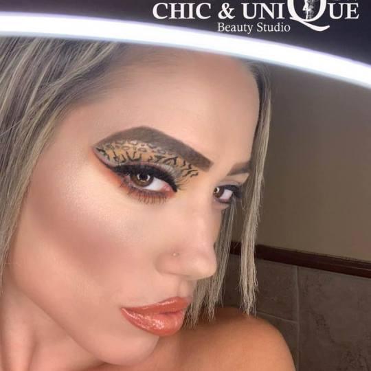 Chic & Unique Beauty Studio #beograd Make-up / šminkanje Event make up Makeup 💄 kakav zamislite