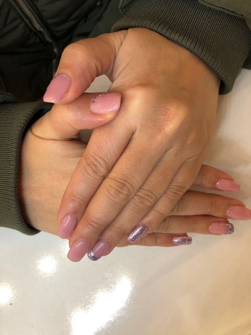 LookBook Alfaparf Nails Gel lak french - ruke