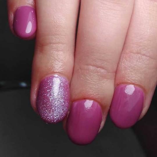 Bella Donna #nis Gel na prirodnim noktima