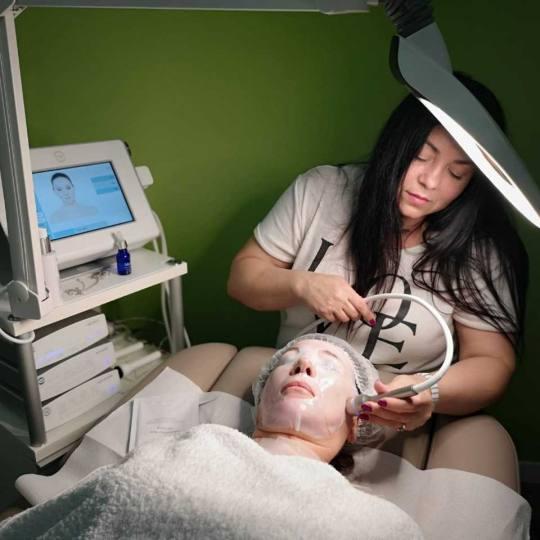 Gradska banja #krusevac Tretman lica Ionto Sono Intense ultrazvučna terapija lica + maska Ultrazvuc