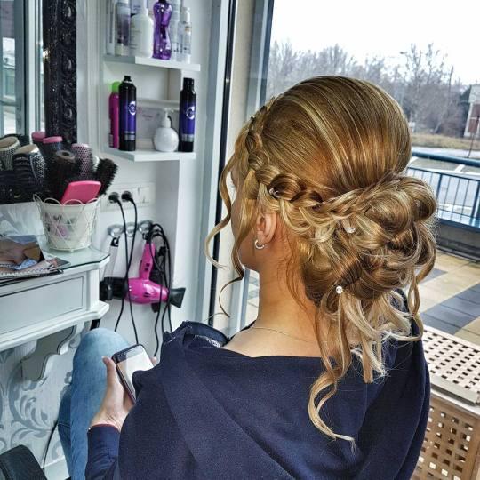 Maxima M #beograd Pletenice, kike, punđe Punđa - ekstra duga kosa