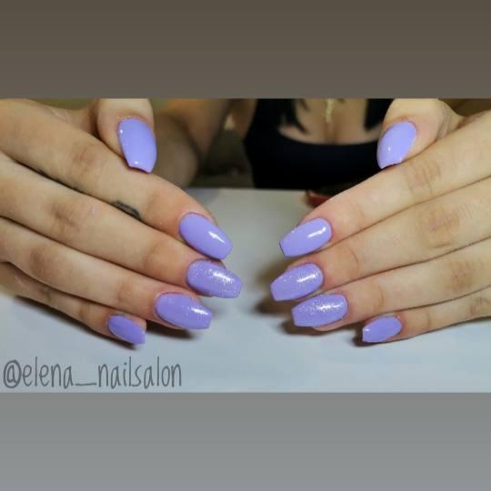 Elena Nails #beograd Nadogradnja noktiju Nadogradnja noktiju tipsama - boja