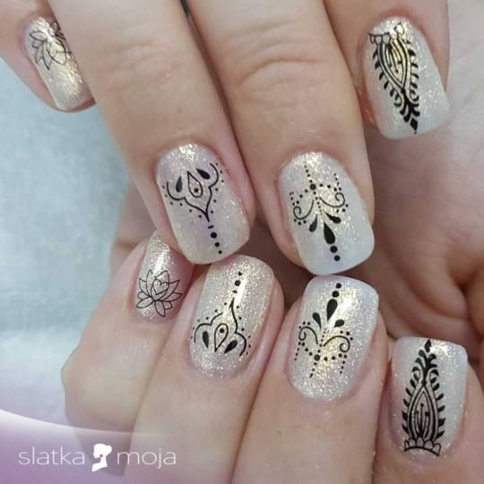 Slatka moja #beograd Ojačavanje noktiju Ojačavanje prirodnih noktiju gelom