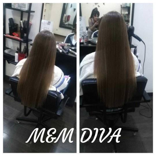 M&M Diva #beograd Feniranje i stilizovanje Feniranje na ravno - extra duga kosa