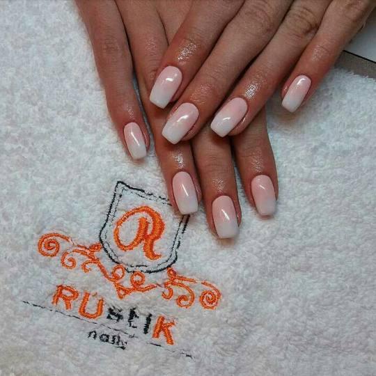 Rustik Nails #beograd Ukrašavanje noktiju Ombre - svi nokti Ukrašavanje noktiju
