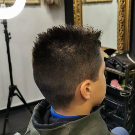 Baroque #beograd Dečije šišanje Dečije šišanje - kratka kosa