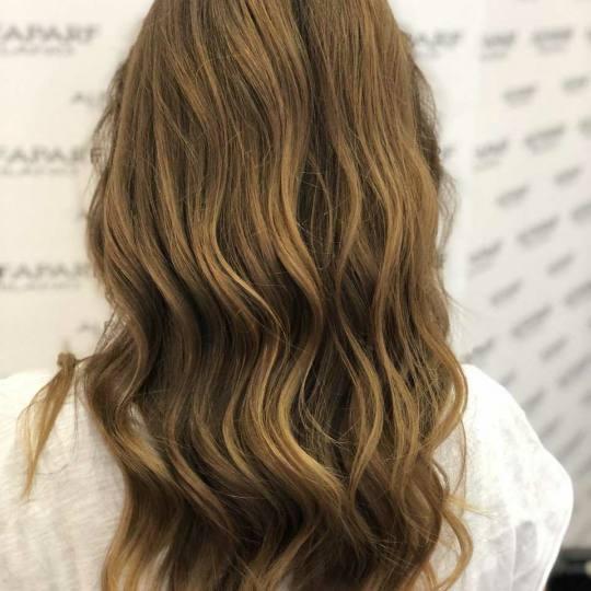 Alfaparf Studio Ada Mall #beograd Feniranje i stilizovanje Feniranje na lokne - duga kosa