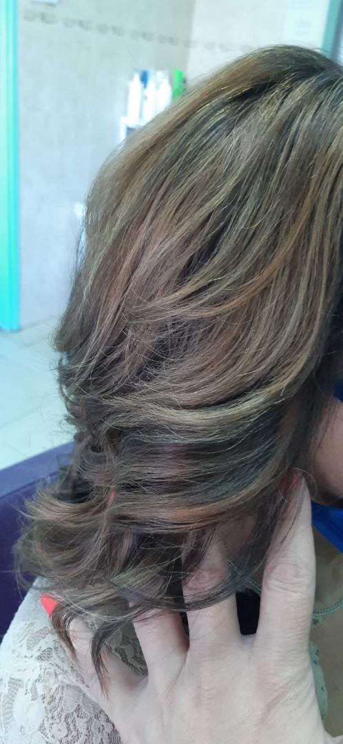 LookBook Estetik & Hairstilyst studio F Balayage / Ombre + preliv / blanš - duga kosa