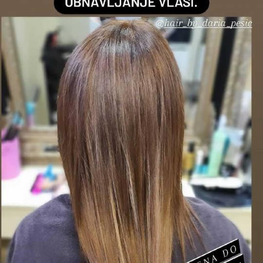 Bibi beauty centar #beograd Nega i ojačavanje kose Brazilski keratin - srednja duzina kose Keratin