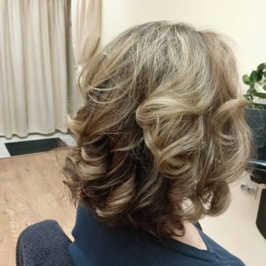 Hair by Silvy #beograd Ombre, sombre, balayage Balayage + feniranje - kosa srednje dužine Mocha bal
