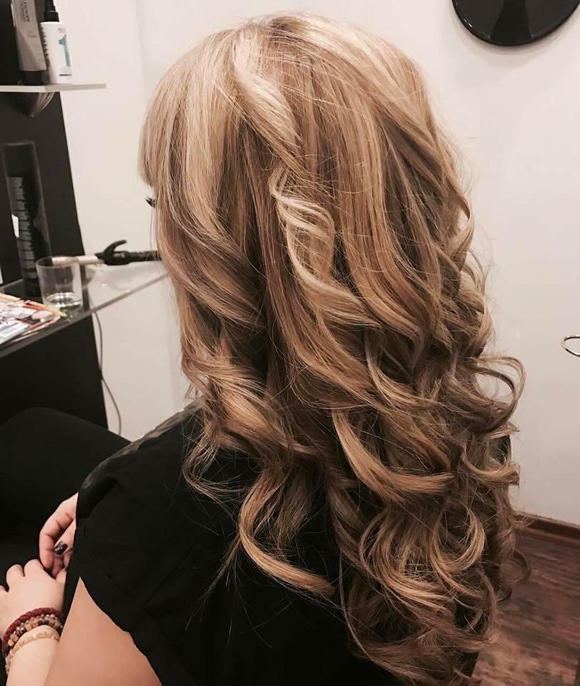 LookBook Hair Solutions Pramenovi na foliju 2 i više boja + preliv - duga kosa