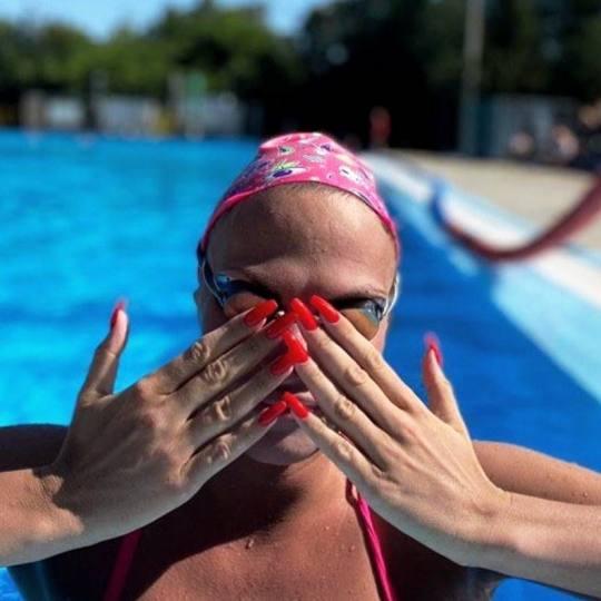 Alfaparf Nails #beograd Izlivanje noktiju Izlivanje noktiju gelom + gel u boji