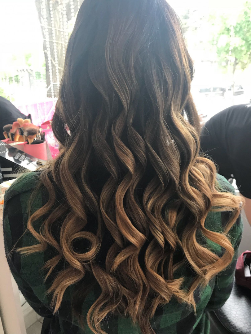 LookBook Plavi anđeo Talasi na presu - duga kosa