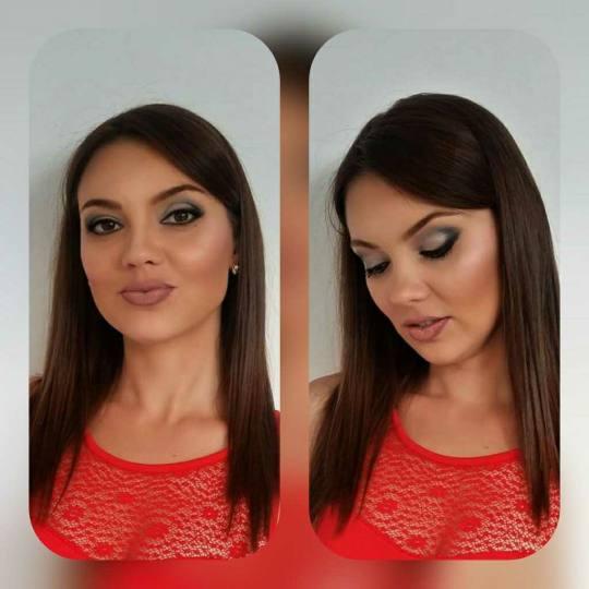 Diamond 555 #beograd Make-up / šminkanje Profesionalno šminkanje + veštačke trepavice Profesiona