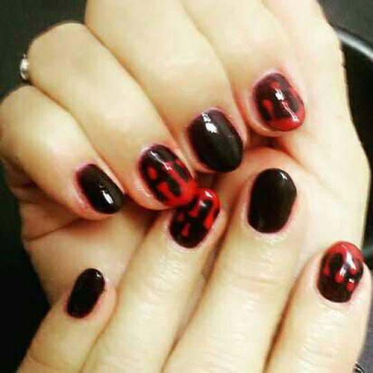 SpringTime #nis Ojačavanje noktiju Ojačavanje prirodnih noktiju gelom - kratki nokti Ojacanje nokt