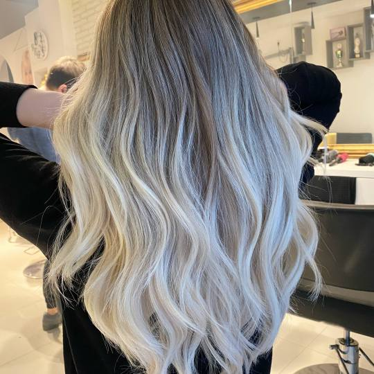 Hair and beauty #beograd Ombre, sombre, balayage Full blonde balayage + gratis šišanje - duga kosa