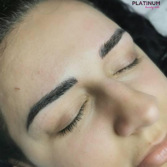 Platinum Beauty Code #beograd Obrve Japansko iscrtavanje obrva Japansko iscrtavanje obrva microbladi