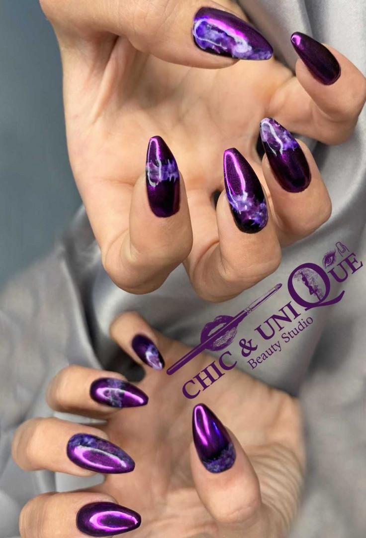 LookBook Chic & Unique Beauty Studio Ojačavanje prirodnih noktiju gelom