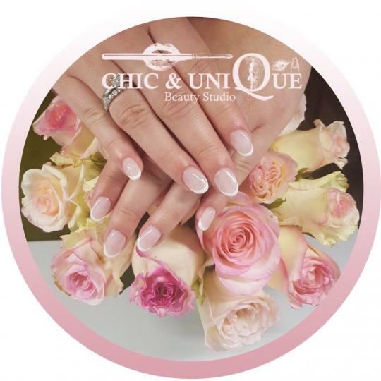 Chic & Unique #beograd Ojačavanje noktiju Ojačavanje noktiju gelom Tehnika rada frenc-milk