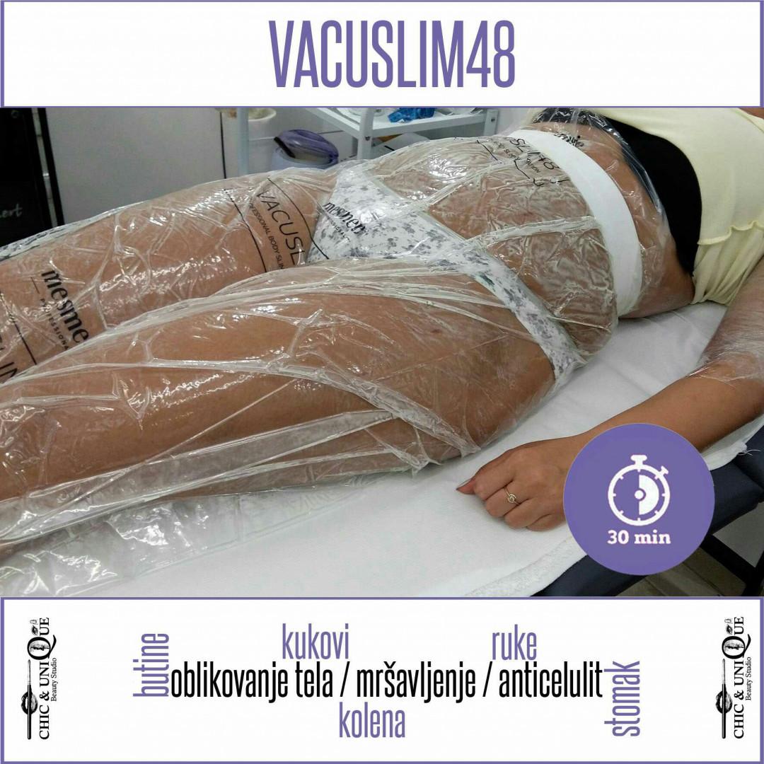 LookBook Chic & Unique Vacuslim 48 tretman - stomak, gluteus, noge