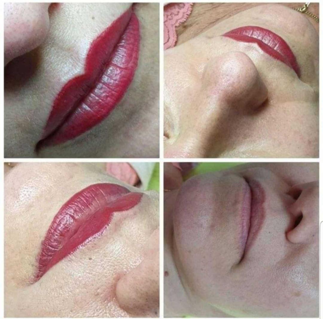 LookBook Tina B Trajna šminka - kontura usana + prva korekcija