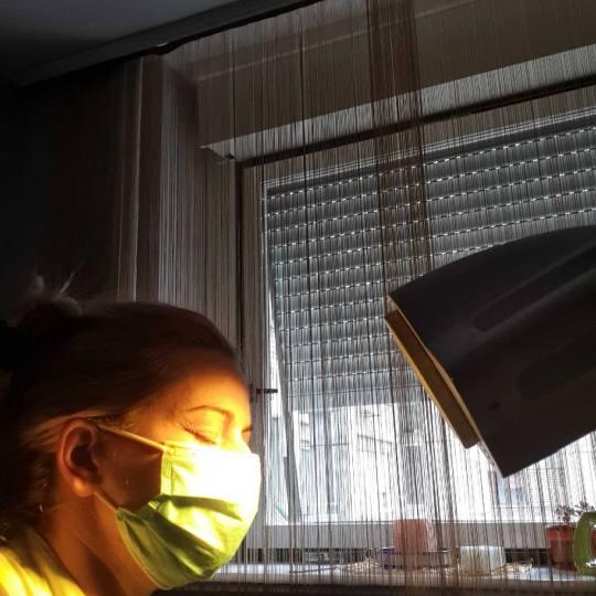 Tina S 021 #novisad Svetlosna terapija Bioptron tretman tretman Bioptron aparatom