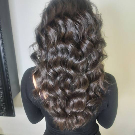 Baroque #beograd Feniranje i stilizovanje Feniranje na ravno / lokne - duga kosa
