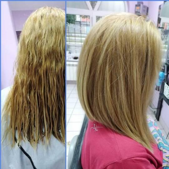 Jovana + #beograd Žensko šišanje Žensko šišanje + feniranje na ravno / lokne - duga kosa
