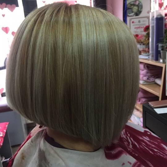 Wild style #nis Farbanje kose Uslužno šatiranje na kapu 1 boja + preliv - kosa srednje dužine
