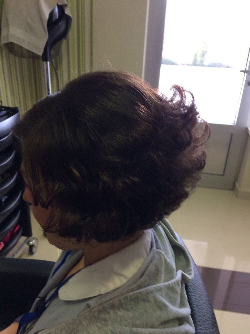 LookBook Wild style Feniranje na lokne- kratka kosa
